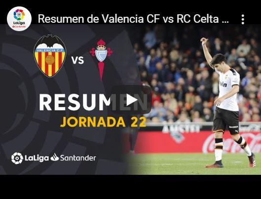 22-й тур. Валенсия 1 - 0 Сельта
