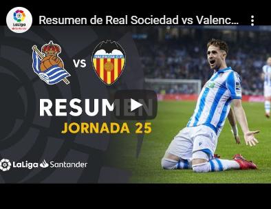 25-й тур. Реал Сосьедад 3 - 0 Валенсия