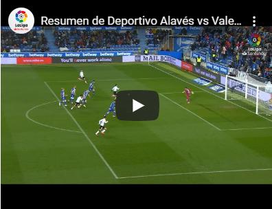 27-й тур. Алавес 1 - 1 Валенсия