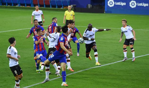31-й тур. Эйбар 1 - 0 Валенсия
