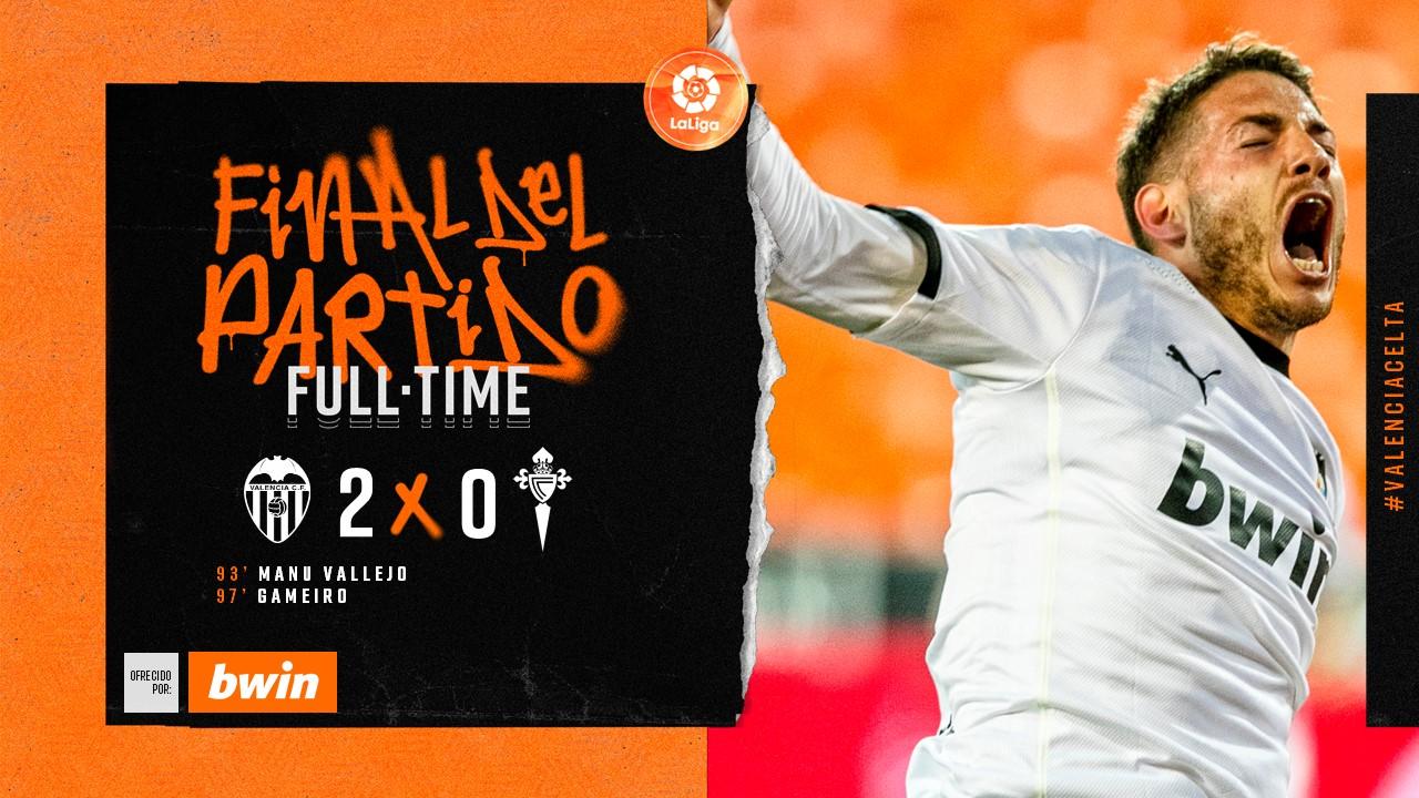 24 тур. Валенсия 2-0 Сельта