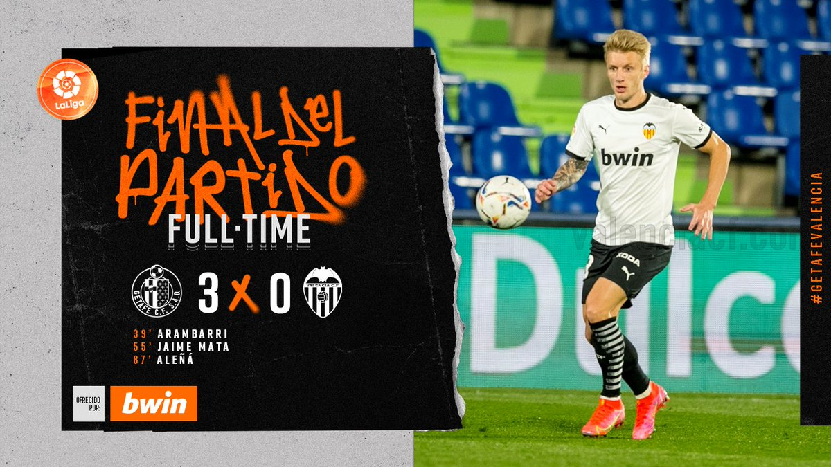 25 тур. Хетафе 3-0 Валенсия