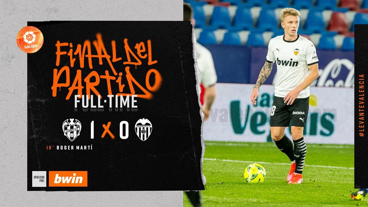27 тур. Леванте 1-0 Валенсия