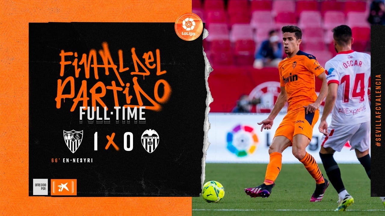 36 тур. Севилья 1-0 Валенсия