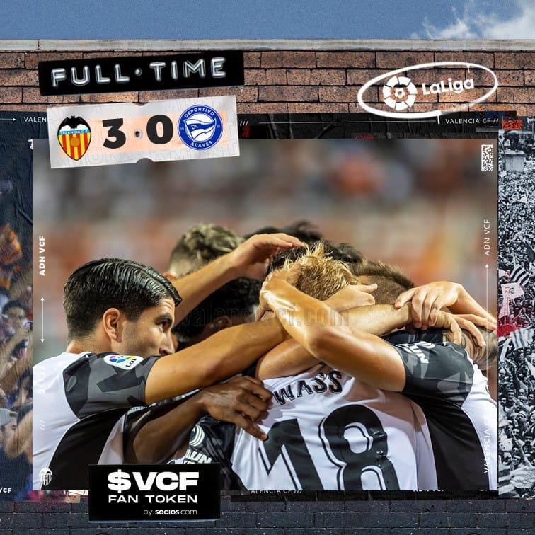 3-й тур. Валенсия 3-0 Алавес
